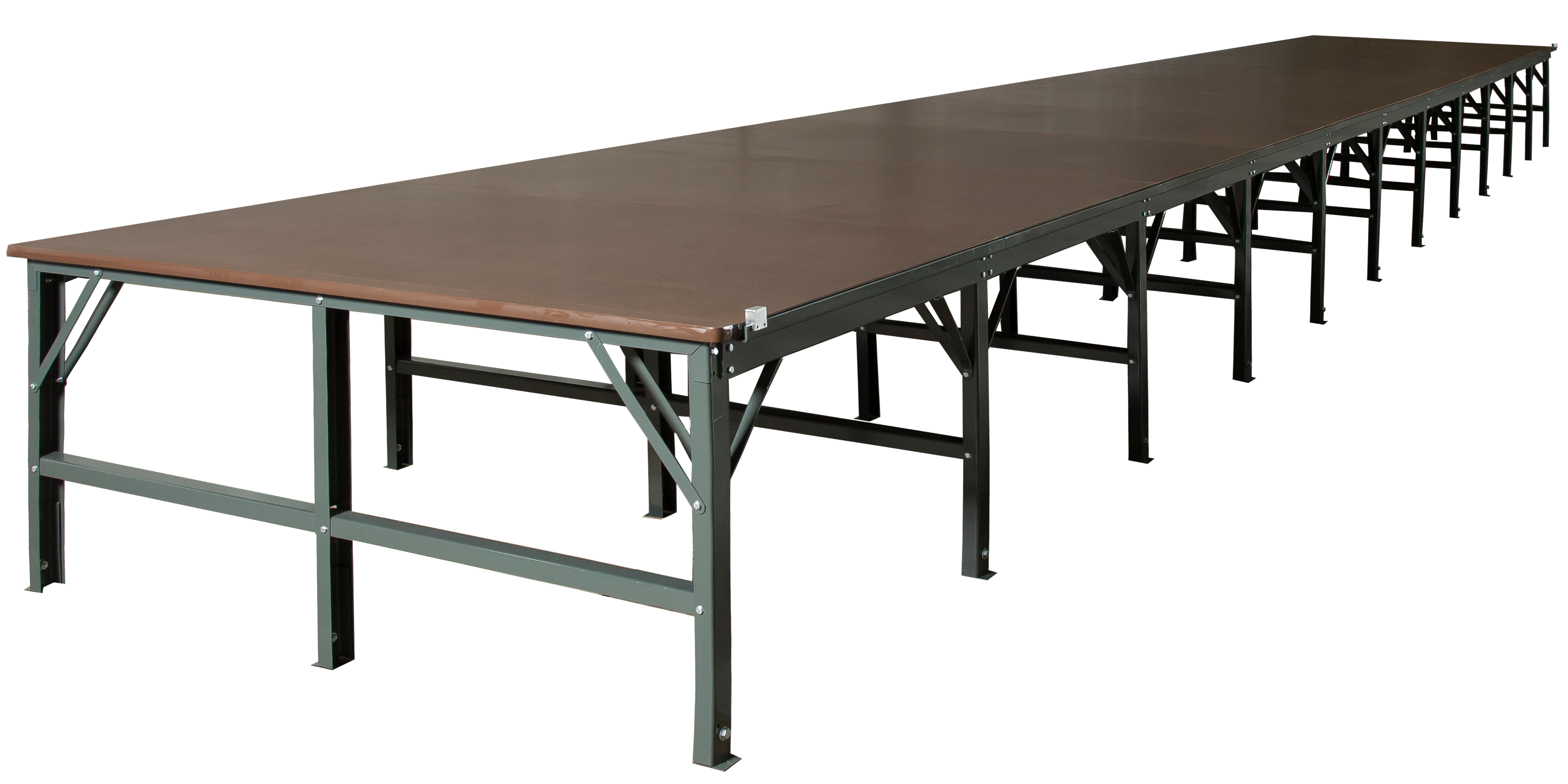 Spreading and cutting tables unicraft corporation for Table transparente