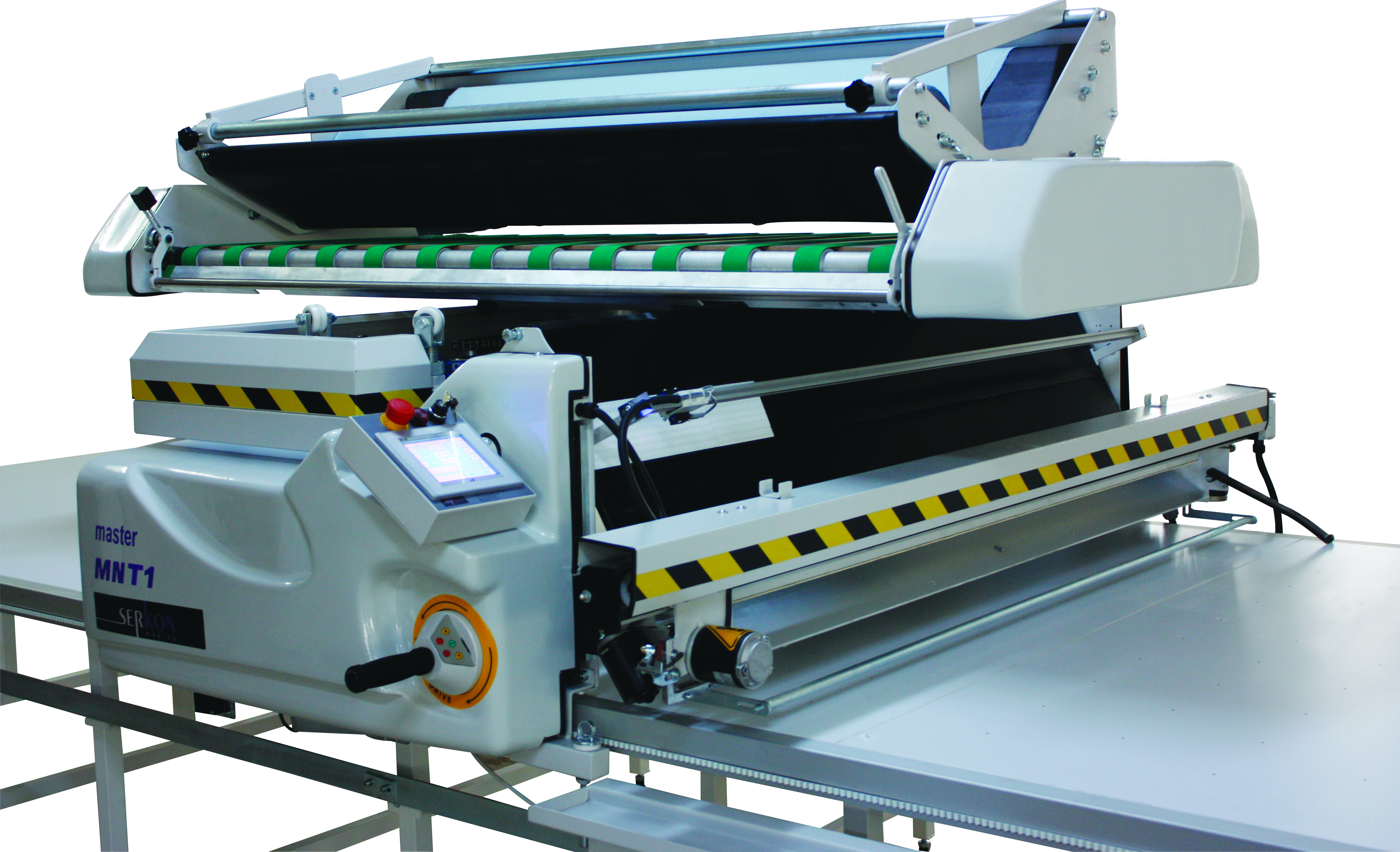 Automatic Turntable Fabric Spreading Machine From Unicraft